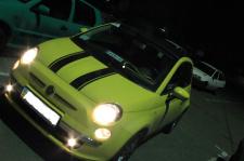 Доработка дизайна автомобиля Fiat 500C