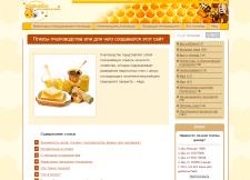 Наполнение сайта о пчелах CMS WP