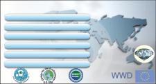 Визитка для компании сетевого маркетинга 2 сторона