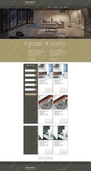 дизайн сайта аркнда жилья
