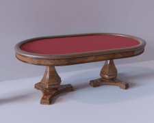 Дизайн моделирование и визуализация покерный стол
