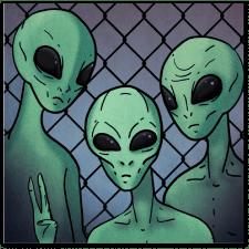 Иллюстрация инопланетян