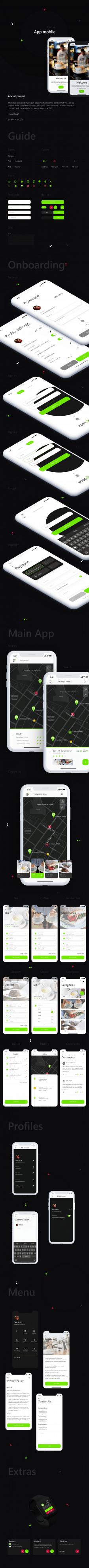 Дизайн мобильного приложения СoffeeOK