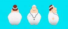 Фирменный персонаж Доктор анти стресc