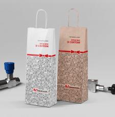 Подарочный пакет от фирмы зап.частей