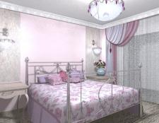 спальня в стиле Французский шик