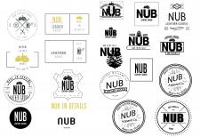 "Логотип для кож-галантерии ""NUB"""