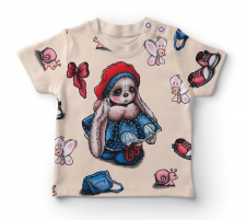 Дизайн ткани и разработка принта для детей .