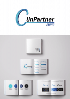 Логотип и гайдлайн для CLINPARTNER UKRAINE, LLC