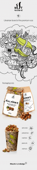 NUT natural / packaging design