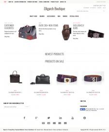 Интернет бутик мужских товаров