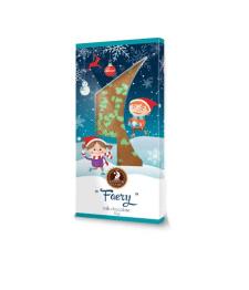 Дизайн упаковки детского новогоднего шоколада