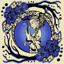 Иллюстрация (принт)The Secret Soul of Sun and Moon