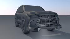 Car Lexus LX 570 2020