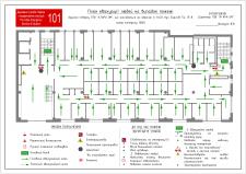 план евакуації на випадок пожежі