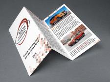 Флаер для Bucha International Car Showroom