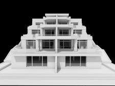 Дом на рельефе (эскиз)
