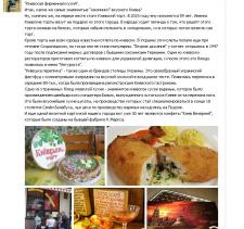 Киевская фирменная кухня
