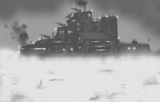 Concept swamp base | База на болоте