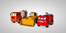 Машинки для мультфильма.