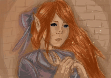 Девушка эльф