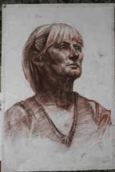 Портрет(мягкий материал)