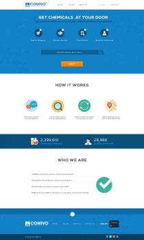 Landing Page — Comivo