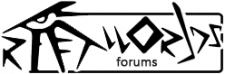 "Логотип ""Rift-Worlds"" для форума"