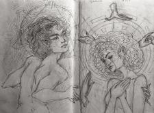 Создание персонажа, рисунков, иллюстраций