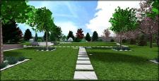 Стильный и лаконичный сад №5