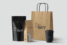 Розробка логотипу SKY
