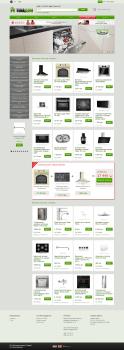 Интернет магазин бытовой техники на OpenCart