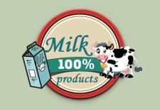 Логотип Компании молочный продуктов