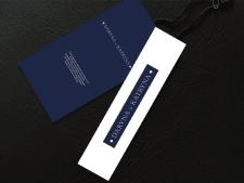Пример логотипа и этикетки для магазина одежды