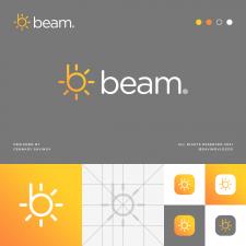 Beam B Letter Logo