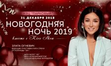 Рекламный баннер для Новогодней вечеринки