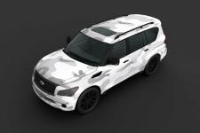 Визуализация оклейки автомобиля виниловой пленкой