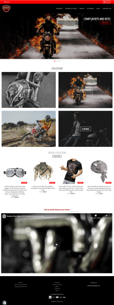 Сайт на Shopify под ключ