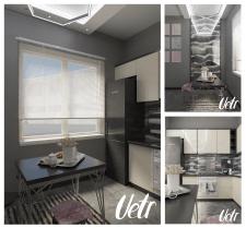Кухня в типичной квартире
