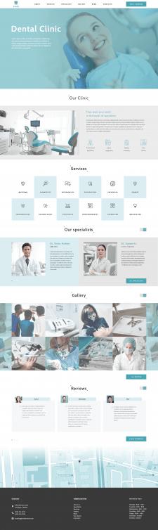 Dental Clinic Corporate website