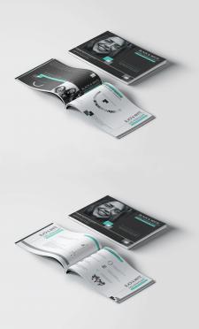 Верстка и дизайн маркетинг-кита