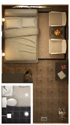 Визуализация мини-отеля
