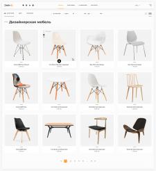Дизайн магазина дизайнерской мебели