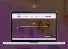 Web-дизайн сайта компании Yoga England