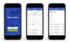 Hitcharide — Дизайн веб-сервиса и приложения