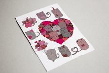 Создание наклеек-котиков с использованием текстур