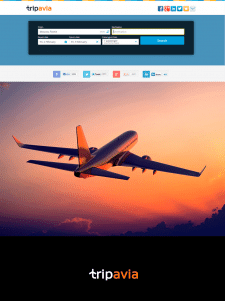 Логотип для сайта авиабилетов