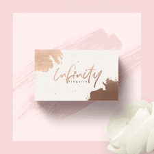 nfinity business card