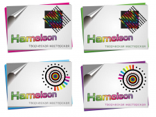 логотип хамелион