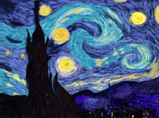 Ночь Ван Гога